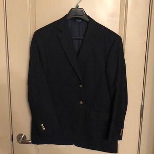 Stafford Navy Blue Blazer - 2 Button - 44R